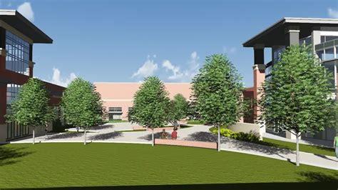 flythru chs library courtyard collierville schools