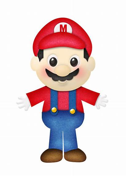 Mario Super Bros Printable Brothers Clipart Scrapbook