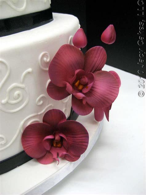 news  jacy cakes orchids swirls wedding cake