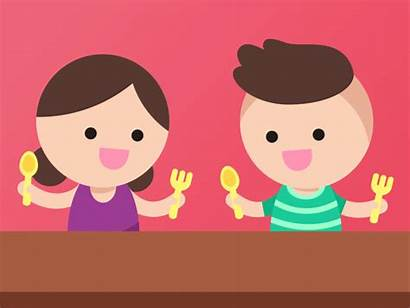 Healthy Diet Dribbble Animation Kid Child Motion