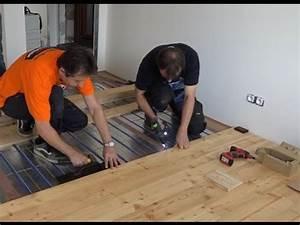 Dřevěná podlaha skladba