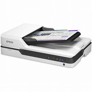 Epson ds 1630 flatbed color document scanner b11b239201 bh for Flatbed document scanner