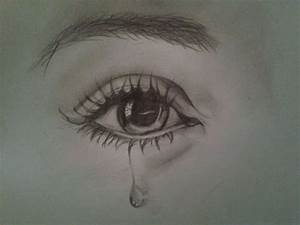 9 Best Images of Sketches Of Tears - Beautiful Simple ...