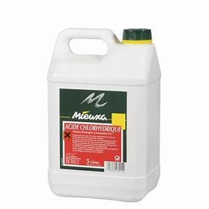 Déboucher Canalisation Acide Chlorhydrique : acide chlorhydrique mieuxa 5 l leroy merlin ~ Dailycaller-alerts.com Idées de Décoration