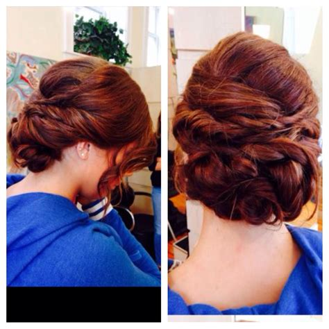 updo for long thick hair dances special occasion prom