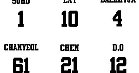 exo number numbers of exo members a whole new world for me