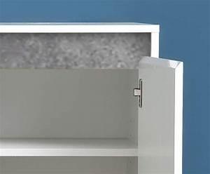 Sideboard Weiss Hochglanz Lack : sideboard sol hochglanz wei und beton grau 119 x 84 cm ~ Buech-reservation.com Haus und Dekorationen