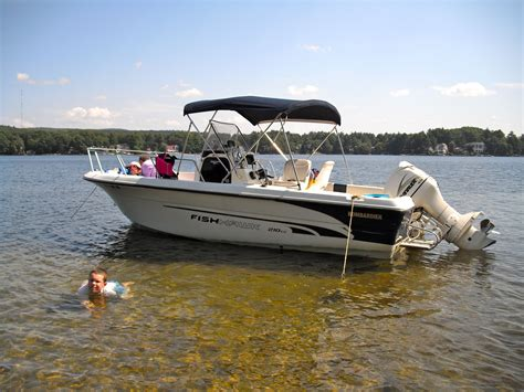 Bombardier Boats by 21 Fishhawk Bombardier 15000 The Hull Boating