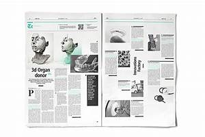 30 Stunning Newspaper Layout Designs | Web & Graphic ...