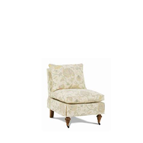 robin bruce travers chair collection slipcover chair