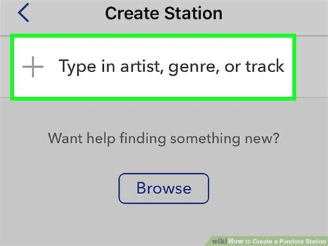 how to create a pandora station 12 steps with pictures