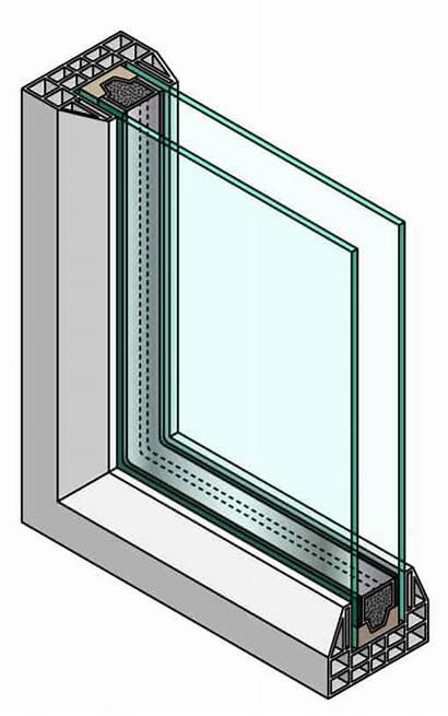 Double Glazing Window Pane Windows Glass Section