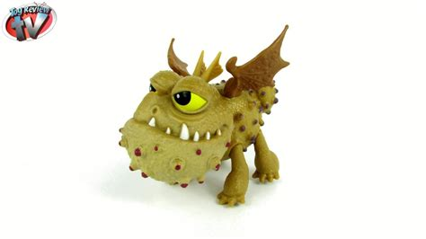 dragons defenders  berk meatlug figure toy review spin
