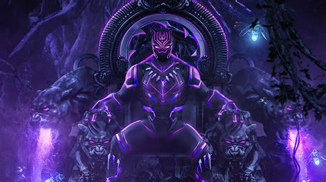 black panther throne  hd superheroes  wallpapers