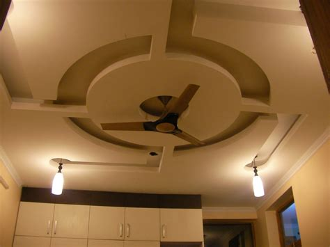 fan for room false ceiling design for living room with two fans