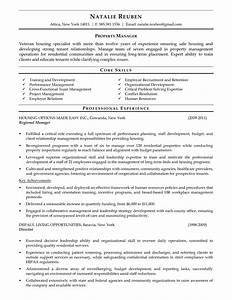 Assistant Property Manager Resume Objective Sample Cover Letter Templates Resume Cover Letter Template