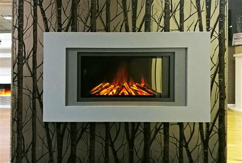 Slimmest Wall Hung Electric Fire Fireplace World Glasgow