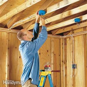 How To Wire A Garage  Unfinished