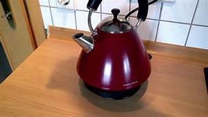 Morphy Richards Wasserkocher : morphy richards retro water boiler wasserkocher youtube ~ Watch28wear.com Haus und Dekorationen