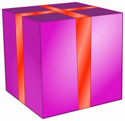 Clipart Gift Square Present Transparent Clip Birthday