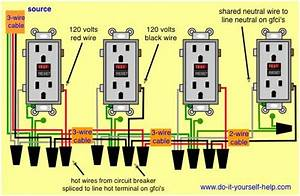 Wiring Diagram Ground Fault Circuit Interrupters