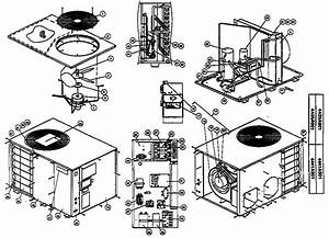 Coleman    Evcon Ind  Package Heat Pump Parts