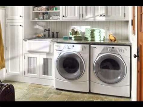 easy garage laundry room decorating ideas youtube
