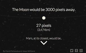 Distance Moon- Mars - Pics about space