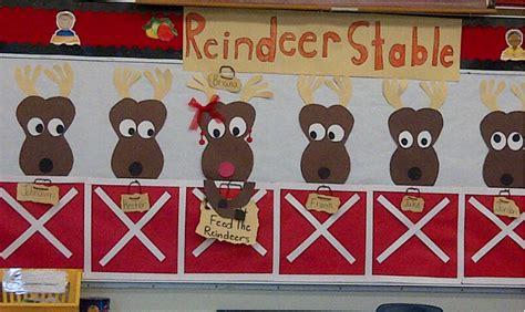 reindeer bulletin boards