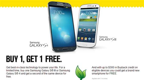 iphone buy one get one free verizon sprint launches back to school bogo deals for galaxy s iii