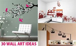 30, Beautiful, Wall, Art, Ideas, And, Diy, Wall, Paintings, For