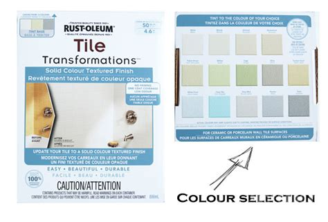 Rustoleum Tub And Tile Refinishing Kit Colors by Yes You Really Can Paint Tiles Rust Oleum Tile