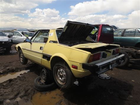 Fiat X19 Parts by Junkyard Find 1978 Fiat X1 9 The About Cars