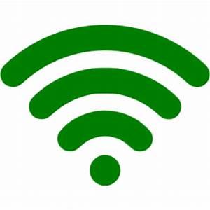 Green wireless icon - Free green wireless icons