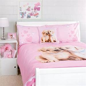 Dog theme bedding comforter pink teen rooms pinterest for Dog bedding for girls