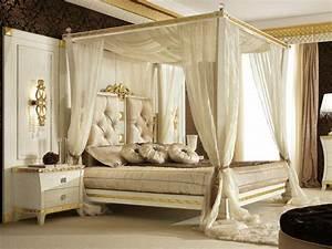 decoration chambre lit baldaquin With chambre avec lit baldaquin