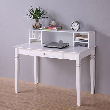 desk with hutch white wood desk with hutch white walmart