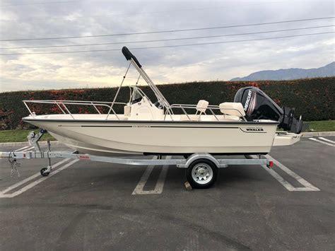 Whaler Boats For Sale Ontario by 2018 New Boston Whaler 170 Montauk170 Montauk Center