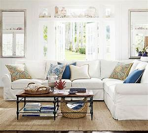 pottery barn sofa With sectional sofa like pottery barn