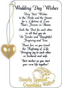 wedding day wishes simply special creations