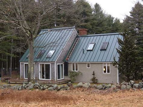 Houses With Green Metal Roofs  Hartford Green
