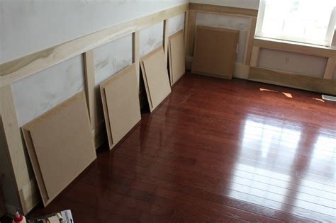 Installing Mdf Wainscoting how to make your own raised panel molding wainscoting