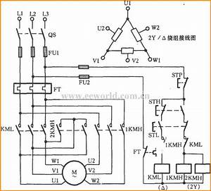 3 Phase 2 Speed Motor Wiring Diagram