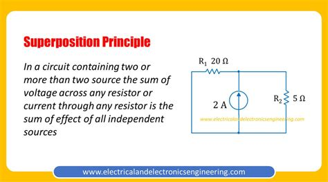 Superposition Principle - Electrical and Electronics ...