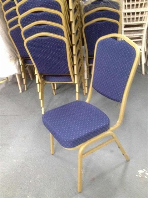 secondhand chairs and tables steel frame banqueting chairs