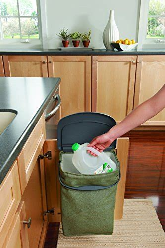 Rubbermaid Hidden Recycler Over The Door Under Cabinet