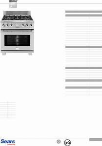 Kenmore Pro 30 Warming Drawer Installation Guide 22 79523