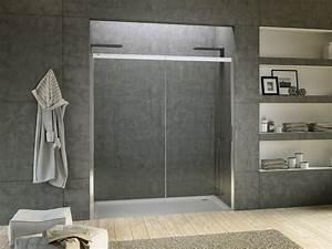 Niche De Douche : cabine de douche en niche en cristal acqua r 5000 ~ Premium-room.com Idées de Décoration