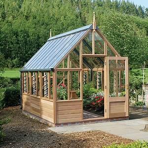 Gabriel Ash Wisley Series Greenhouse - Wood Frame