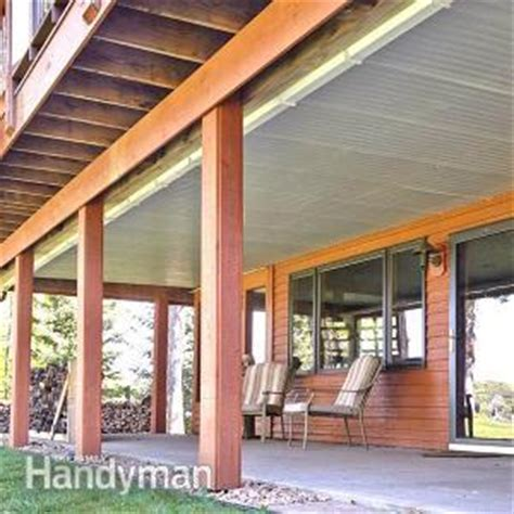 deck roof  family handyman